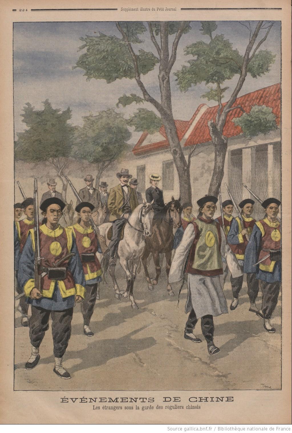 La R 233 Volte Des Boxeurs En Chine 1900 Un Exemple De