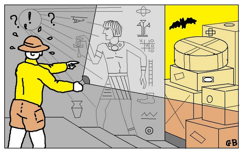 a la recherche du tr sor de toutankarton 6 me. Black Bedroom Furniture Sets. Home Design Ideas